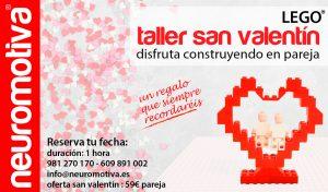 Taller San Valentín con Lego®