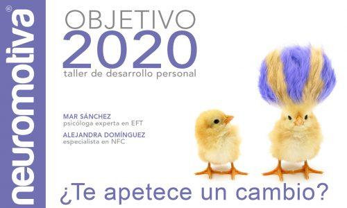 Objetivo 2020: taller de desarrollo personal