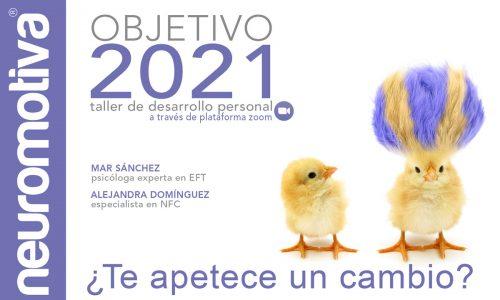 Objetivo 2021: taller de desarrollo personal